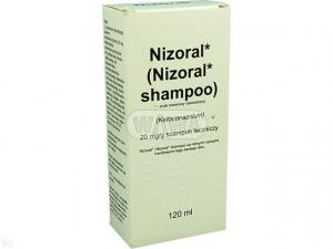 Nizoral szamp.leczn. 0,02g/g 120ml Delfarm
