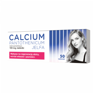 Calcium pantothenicum 100mg x 50 tabl.