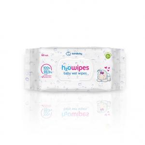 Chusteczki nawilżane H2Owipes baby wet wipes 72 sztuki