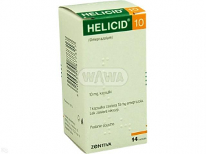 Helicid Control 10mg x 14 kaps.