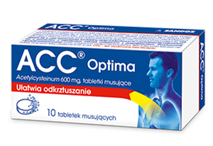 ACC OPTIMA 600mg x 10 tabl.musuj.
