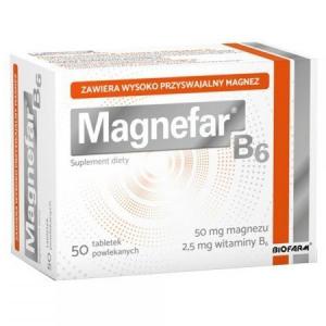 Magnefar B6 x 50tabl.