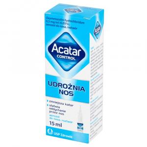 Acatar Control aerozol do nosa 0,5 mg/ml 15ml