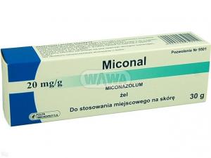 Miconal żel 20mg/1g - 30g