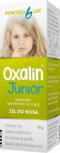 Oxalin Junior żel do nosa 0,5 mg/g 10 g
