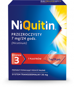 Niquitin CQ 7mg/24h x 7 plastrów