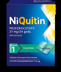 Niquitin CQ 21mg/24h x 7 plastrów