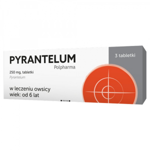 Pyrantelum 250mg x 3 tabl.