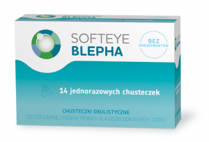 SOFTEYE BLEPHA Chusteczki okulistyczne 14s