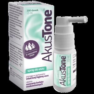 Akustone spray d/uszu 15 ml