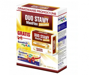 Duo Stawy + Sundovit D3+K2+Mg+B6 GRATIS ta