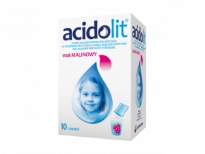 Acidolit sm.malinowy x 10 saszetek