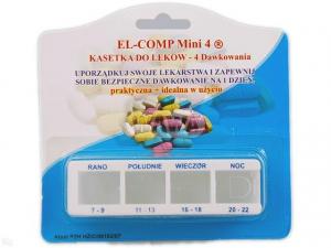 Kasetka do leków dzienna KD3-A (EL-COMP)