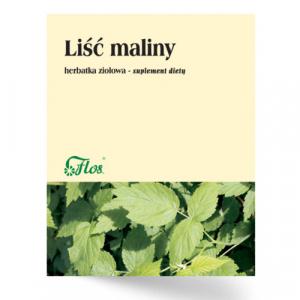 Herbatka Ziołowa LIŚĆ MALINY 50 g