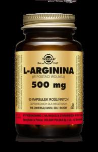 SOLGAR L-Arginina 500 mg kaps. 50 kaps.