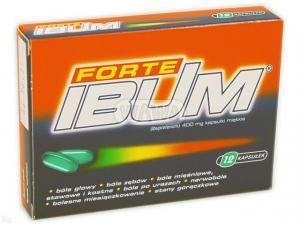 Ibum Forte 400mg x 12 kaps.