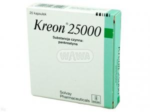 Kreon 25 000 x 20 kaps.