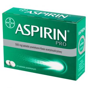 Aspirin Pro 500mg x 20tabl.