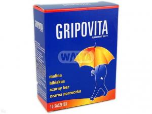 Zdrovit Gripovita napój instant 10g 10sasz