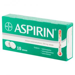 Aspirin 500mg x 10tabl. (karton)