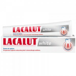 LACALUT WHITE pasta wybielająca 75ml