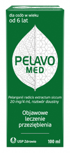 Pelavo Med roztw.doust. 0,02 g/4ml 100 ml