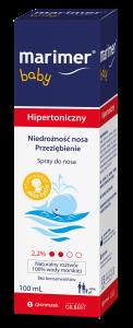 Marimer Hipertoniczny baby sprayd/nosa 100