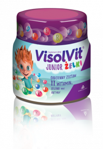 Visolvit Junior Żelki 50 szt.