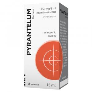 Pyrantelum zawiesina 50mg/1ml - 15ml