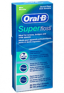 Oral-B nić dent. SuperFloss do mostów