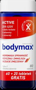 BODYMAX Active 60+20 tabl. GRATIS