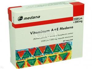Vitamina A+E 2500j.m.+200mgx 40kaps.MEDANA
