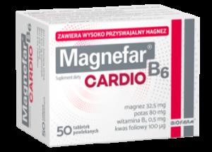 Magnefar B6 Cardio x 50tabl.