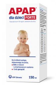 Apap dla dzieci Forte 40mg/ml x150ml