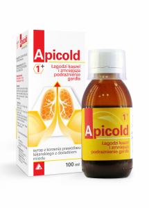 Apicold 1+ Syrop z korzenia prawoślaz 100m