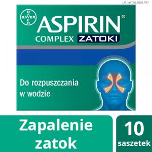 Aspirin Complex ZATOKI x 10 sasz.