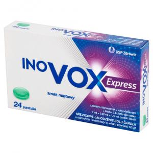 Inovox Express smak miętowy pasty 24