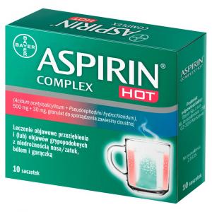 Aspirin Complex Hot x10 saszetek