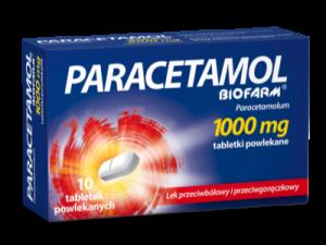 Paracetamol 1000mg x 10 tabl. BIOFARM