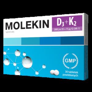 Molekin D3 + K2 tabl.powl. 30 tabl.