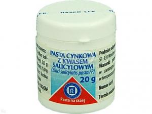 Pasta cynkowa z kw.salicylowym 20g