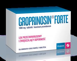 Groprinosin Forte tabl. 1 g 30 tabl.
