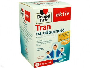 Doppelherz aktiv Tran na odporność 120 k.