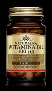 SOLGAR Witamina B12 0,1mg x 100 tabl.