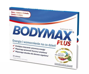 Bodymax Plus x 600 tabl.(30)