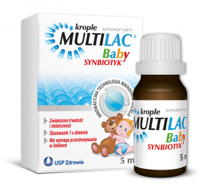Multilac BABY Synbiotyk Krople 5 ml