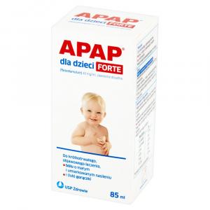 Apap dla dzieci Forte 40mg/ml x 85ml