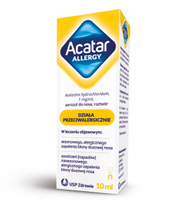 Acatar Allergy aerozol do nosa 1mg/ml 10ml