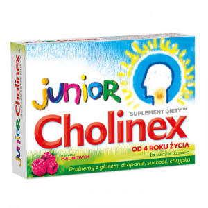 Cholinex Junior x 16 pastylek