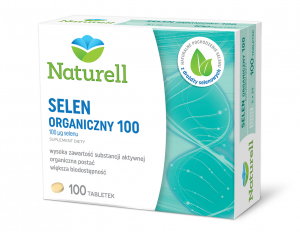 NATURELL Selen Organiczny 100 tabl. 100tab